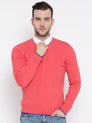 United Colors of Benetton Coral Pink Sweater