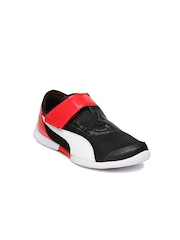 PUMA Kids Black Ferrari Future Cat SuperLT SF EVO V Casual Shoes