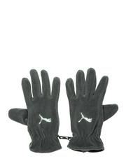 PUMA Unisex Grey Fundamentals Fleece Gloves