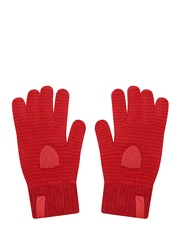 PUMA Unisex Red Striped Ferrari Gloves