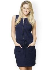 Miss Chase Navy Sheath Dress