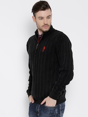 U.S. Polo Assn. Black Sweater