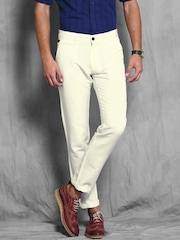 White Trousers - Buy White Trousers Online in India
