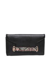Satya Paul Black Wallet