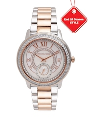 Michael Kors Women Mother of Pearl Dial Watch MK6288