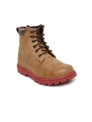 Knotty Derby Kids Brown Boots