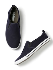 Roadster Men Navy Slip-Ons