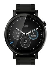 Moto 360 (2nd Gen) Black Metal Smart Watch