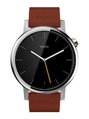 Moto 360 (2nd Gen) Cognac Leather Smart Watch