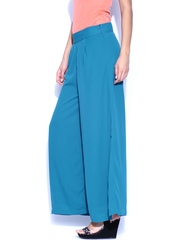 Folklore Blue Bohemian Collection Palazzo Trousers