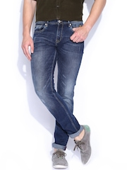 Indian Terrain Blue Washed Brooklyn Fit Jeans