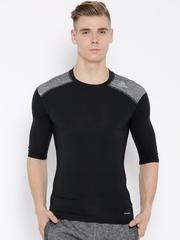 Adidas Black TF Base Panelled T-shirt