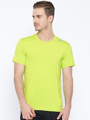 Adidas Neon Green TF Base Fitted T-shirt
