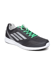 Adidas Men Charcoal Grey Adiray Running Shoes