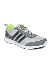 Adidas Men Grey Yking Running Shoes