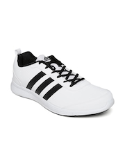 Adidas Men White Alcor Syn 1.0 Running Shoes
