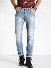 Roadster Blue Slim Jeans