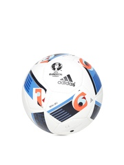 Adidas White EURO16 Training Pro Printed Football