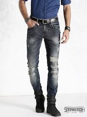 Roadster Navy Skinny Stretch Jeans