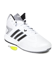 Adidas NEO Men White Cloudfoam Thunder Casual Shoes