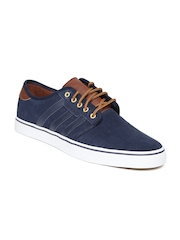 Adidas Men Navy Seeley Suede Casual Shoes