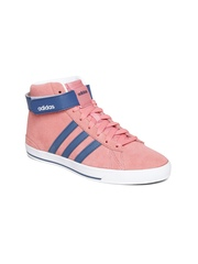 Adidas NEO Women Dusty Pink Daily Twist Suede Sneakers