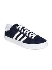 Adidas Originals Men Navy CourtVantage Canvas Shoes