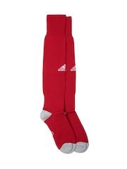 Adidas Men Red MILANO 16 Knee-Length Football Socks