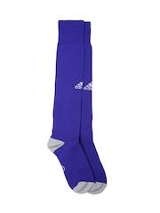 Adidas Men Blue MILANO 16 Knee-Length Football Socks