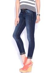 Lee Blue Maxi Ankle Fit Jeans