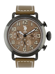 U.S. Polo Assn. Men Brown Dial Watch USAT0089