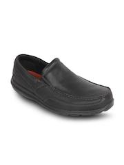 Rockport Men Black Semiformal Shoes