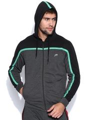 Proline Active Charcoal Grey Hooded Sweatshirt
