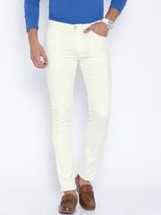 Locomotive White Stain-Resistant Super Slim Fit Jeans