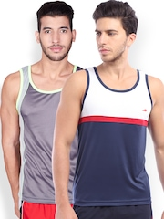 2go ACTIVE GEAR USA Pack of 2 Innerwear Vests MVSP-0203