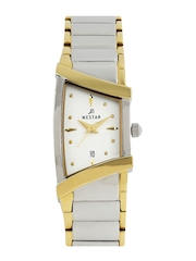 Westar Women White Dial Watch 0429CBN107