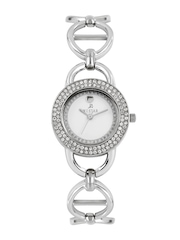 Westar Women Silver-Toned Dial Watch 0455STN107