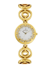 Westar Women Pearly White Dial Watch 0453GPN111