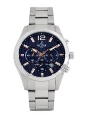 Westar Men Blue Dial Chronograph Watch 5868STN604