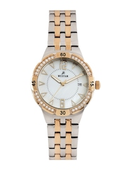 Westar Women Pearly White Dial Watch 0427SPN611