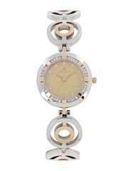 Westar Women Beige Dial Watch 0453SPN109