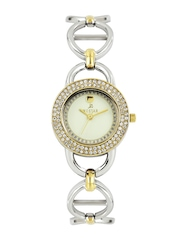 Westar Women Cream-Coloured Dial Watch 0455CBN102