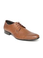 Lee Cooper Men Brown Genuine Leather Semiformal Shoes