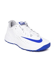 Nike Men White Potential 2 Cricket Shoes