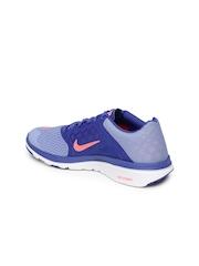 Nike Women Blue FS Lite Run 3 Running Shoes