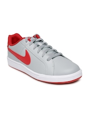 Nike Men Grey Court Royale Leather Casual Shoes