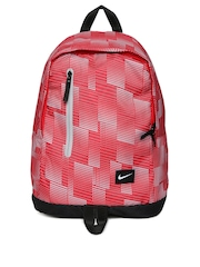 Nike Men Red All Access Halfday Printed Backpack