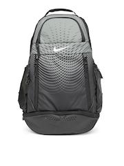 Nike Men Grey & Black Ultimatum Gear Printed Large Backpack