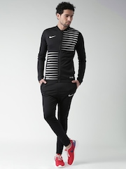Nike Black Printed Football Tracksuit
