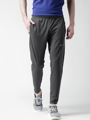 Nike Men Grey DRI-FIT OTC65 Running Track Pants